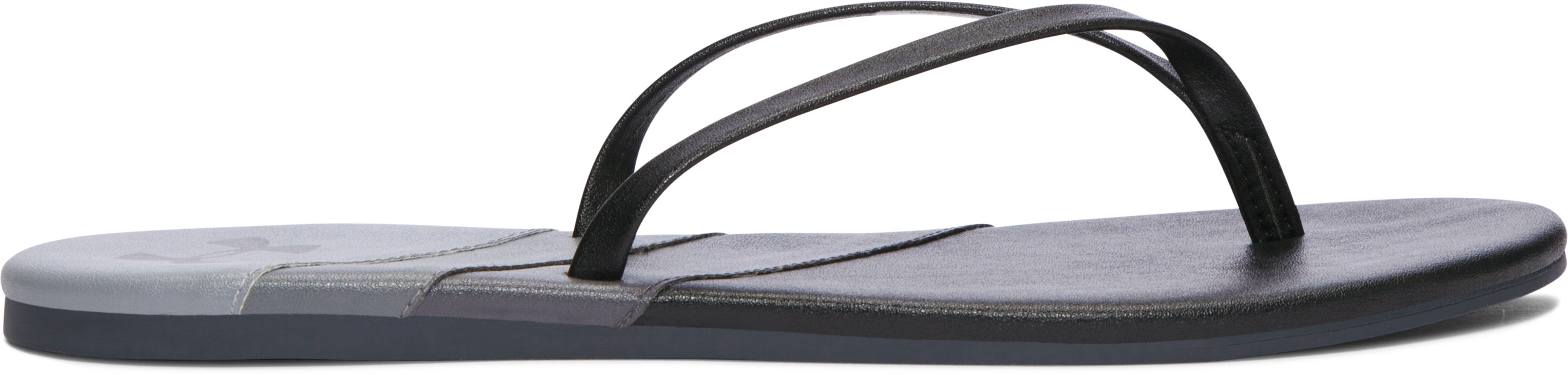 Women's UA Lakeshore Drive Sandals, Black , undefined