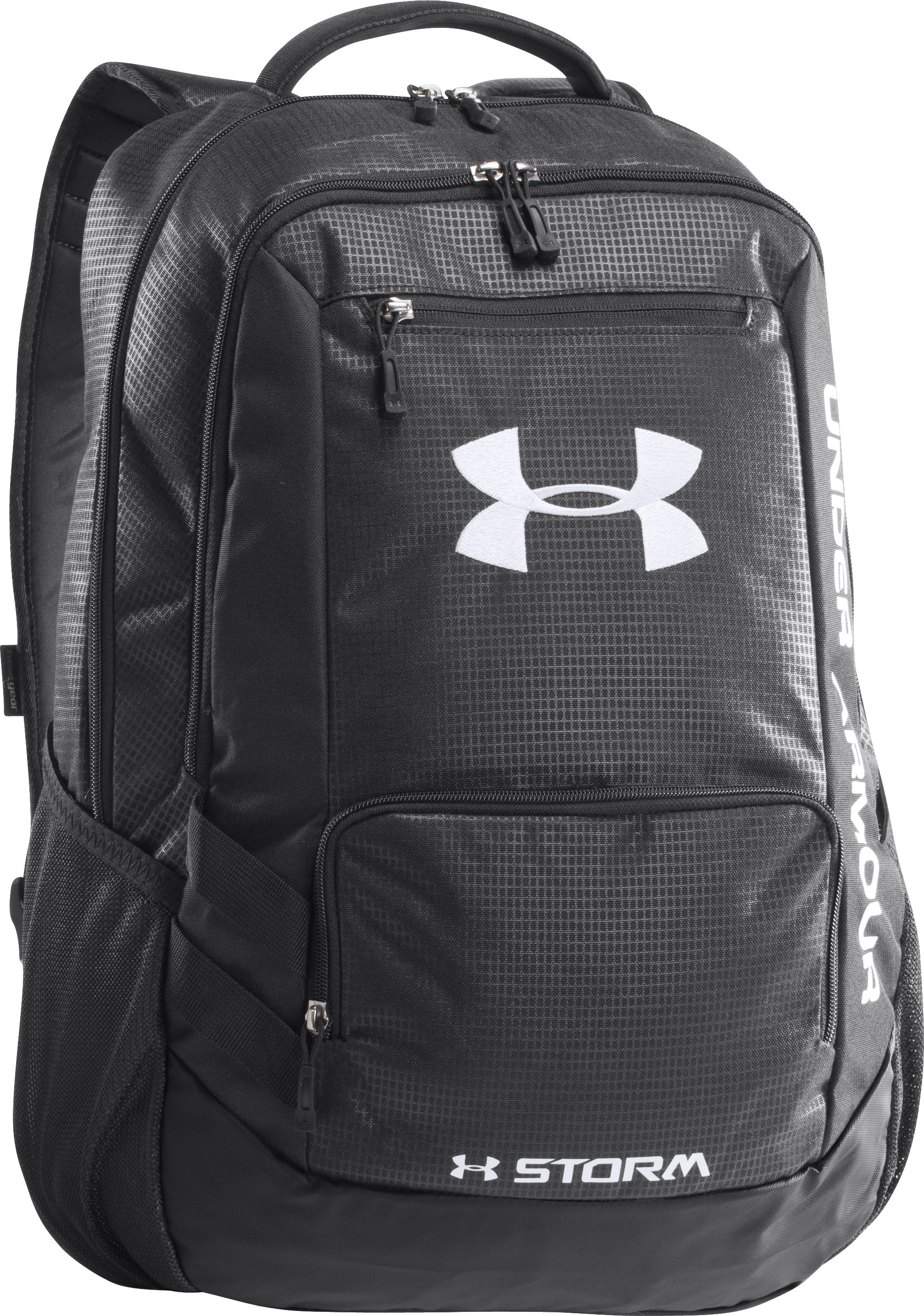 UA Storm Hustle Backpack, Black , zoomed image