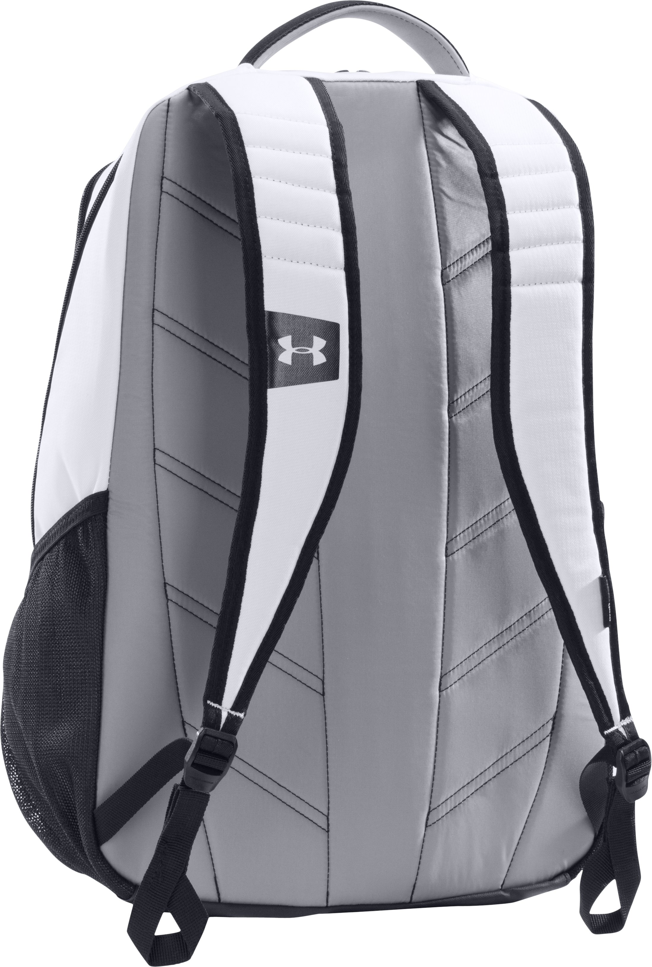 UA Storm Hustle Backpack, White,