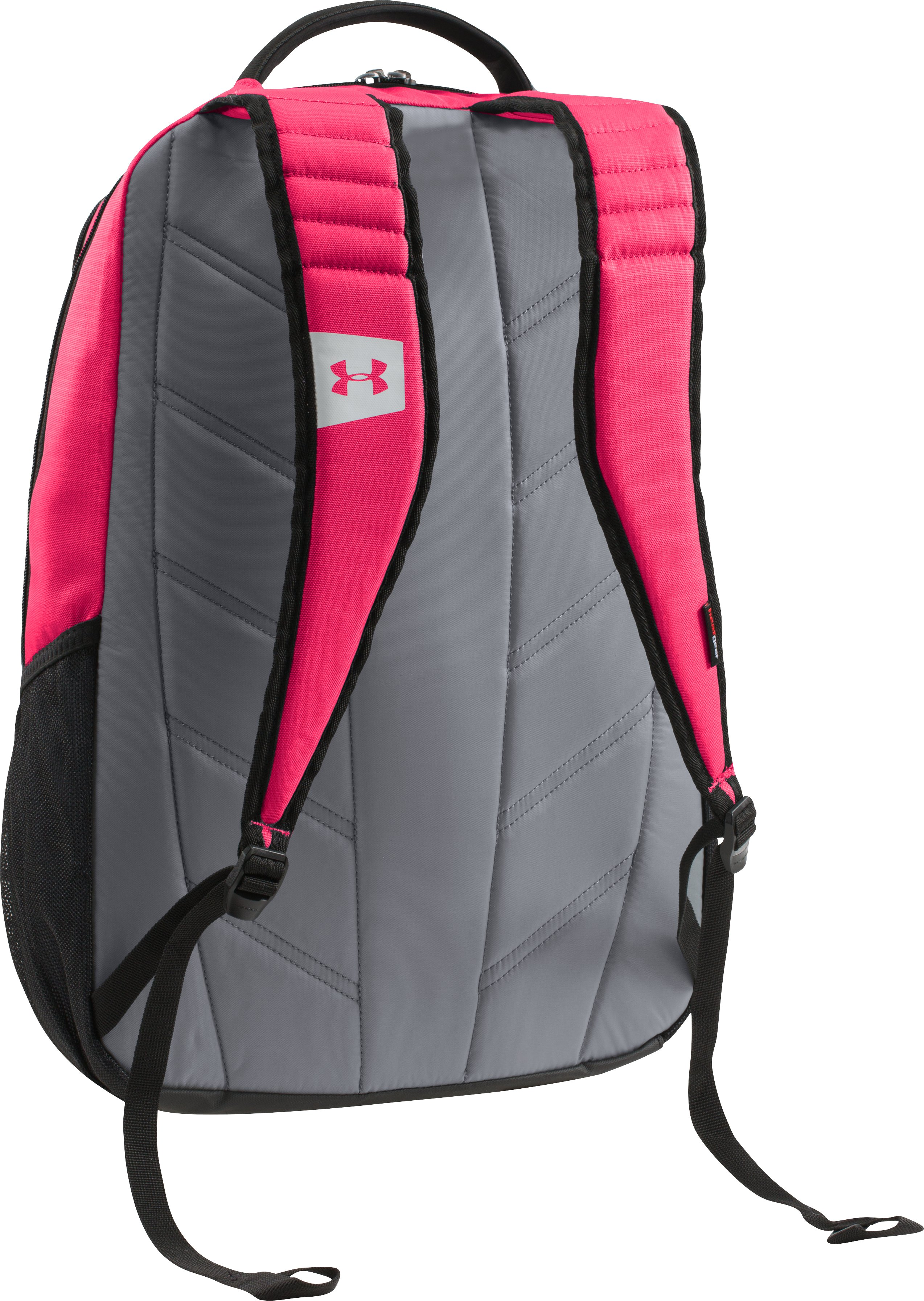 UA Storm Hustle Backpack, PINKADELIC, undefined