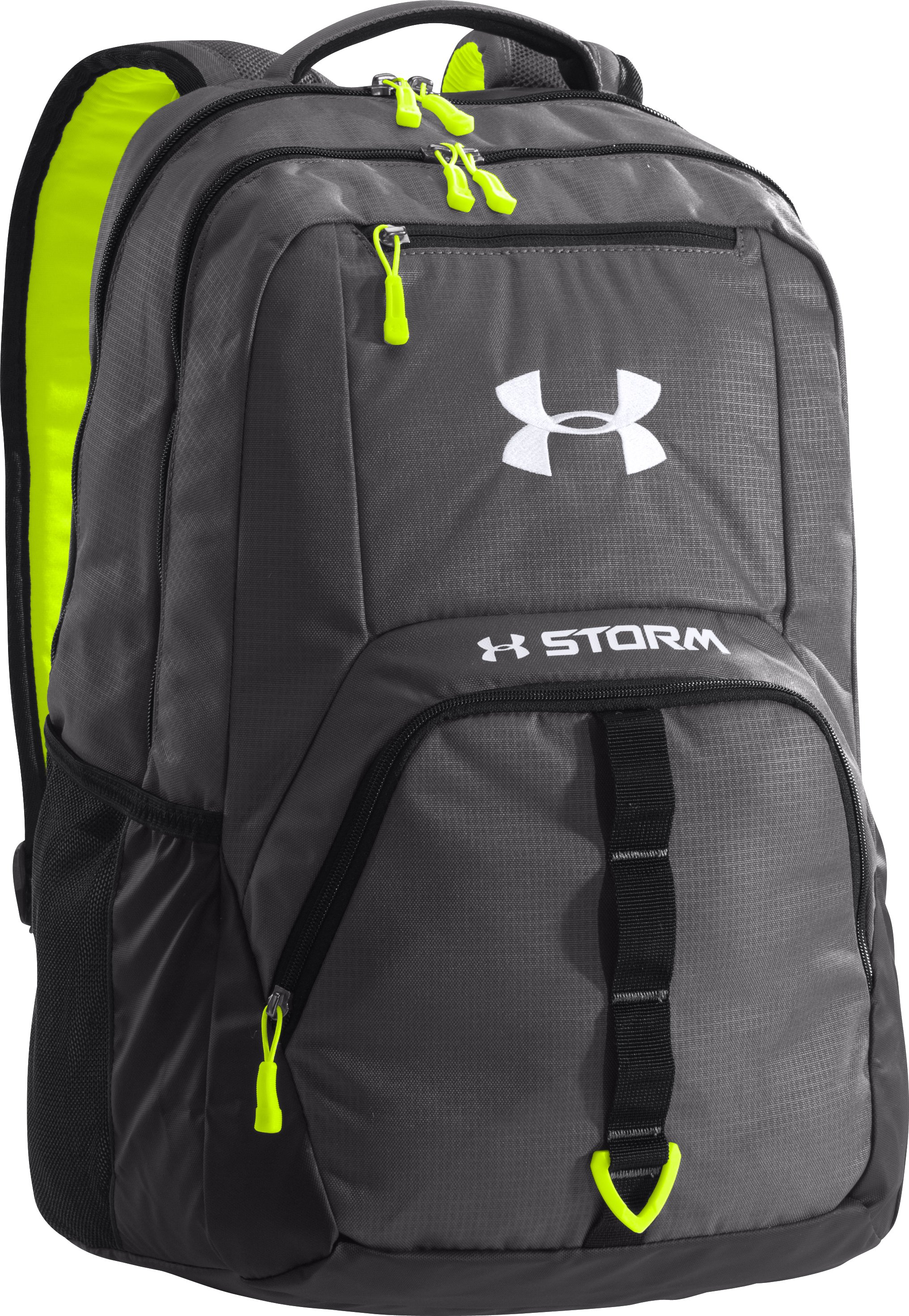 UA Storm Exeter Backpack, Graphite, zoomed image