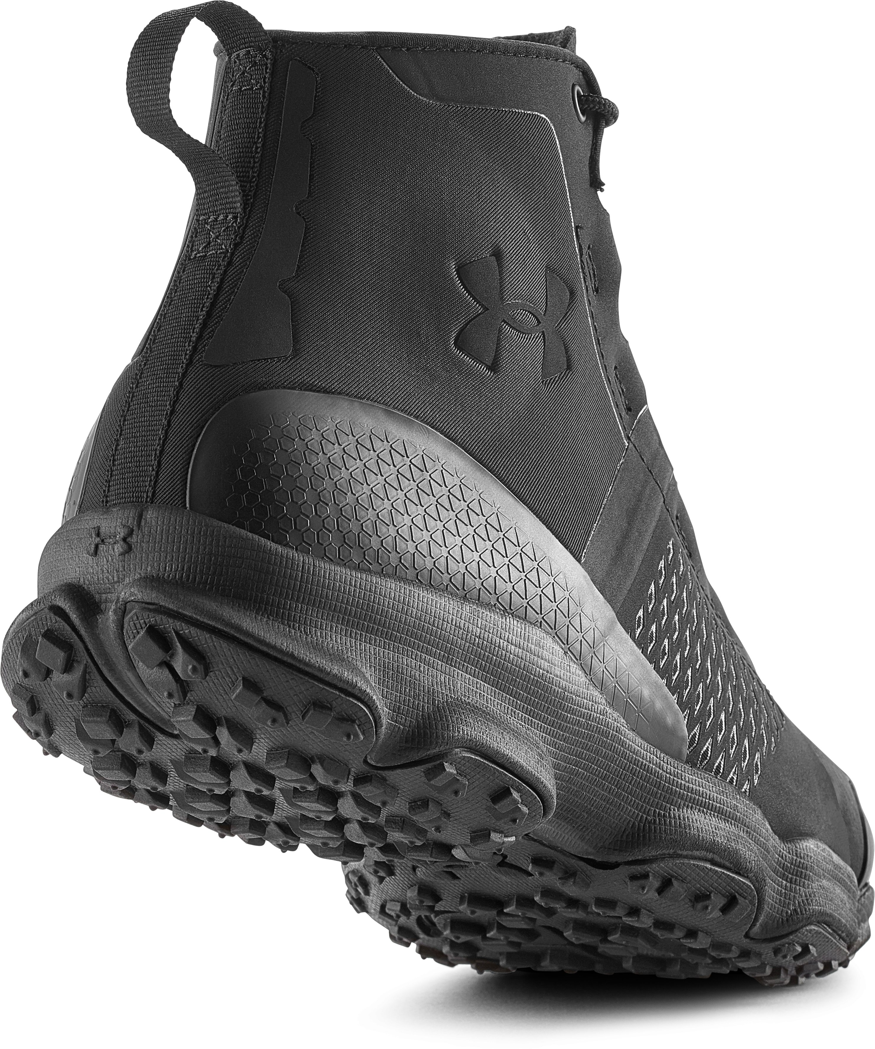 Men's UA SpeedFit Hike Boots, Black