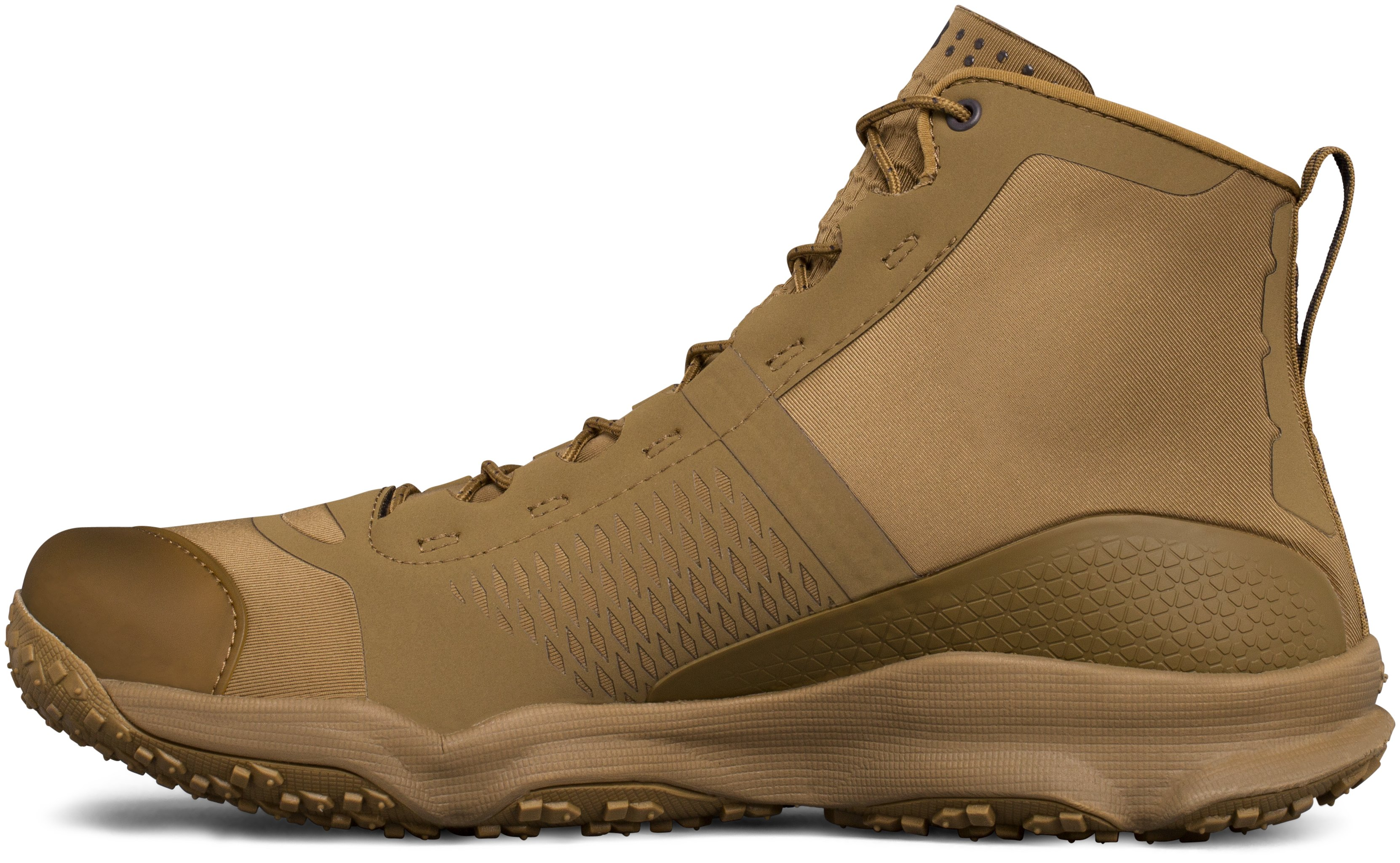 Men's UA SpeedFit Hike Boots, Coyote Brown, undefined