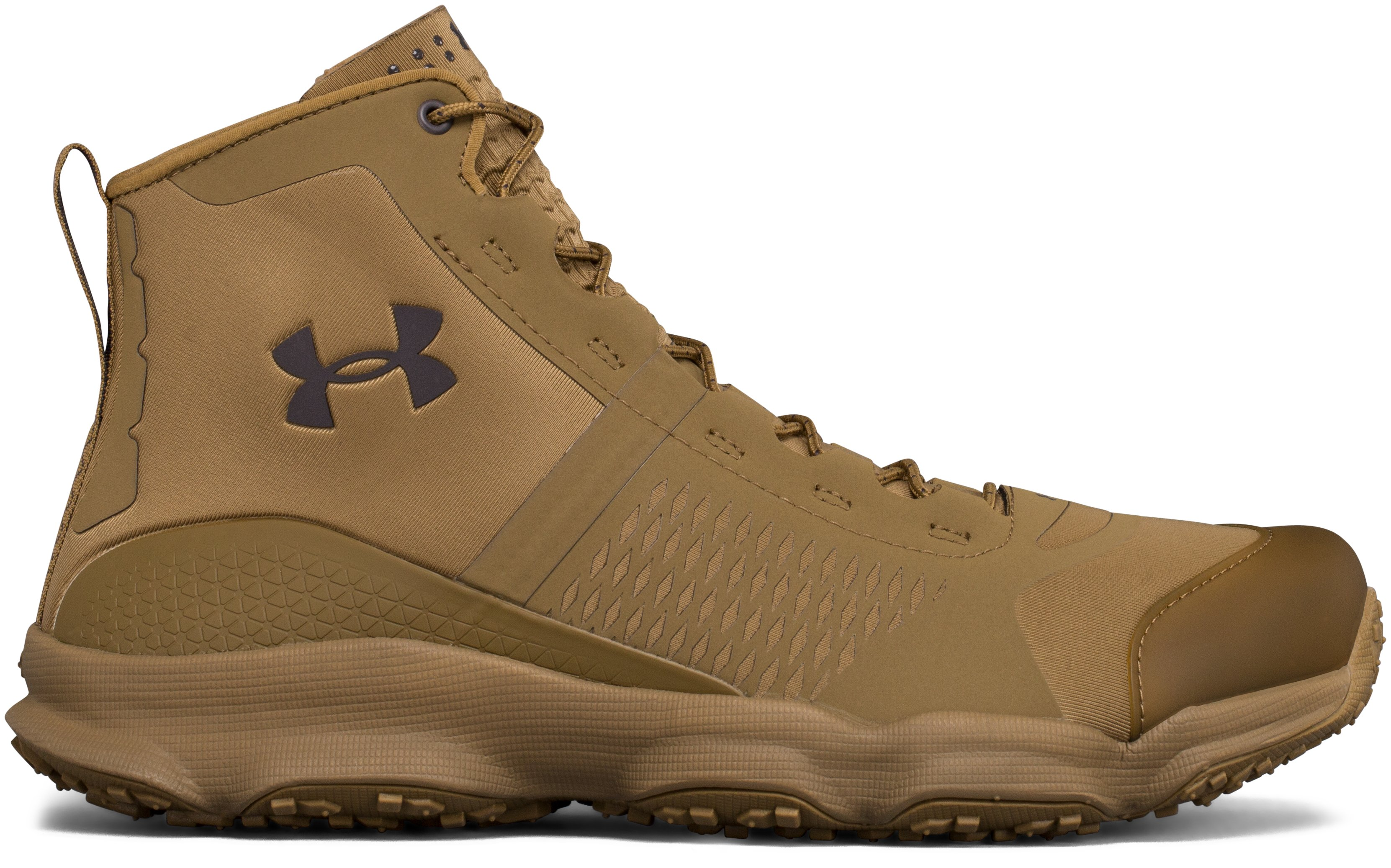 Men's UA SpeedFit Hike Boots, Coyote Brown