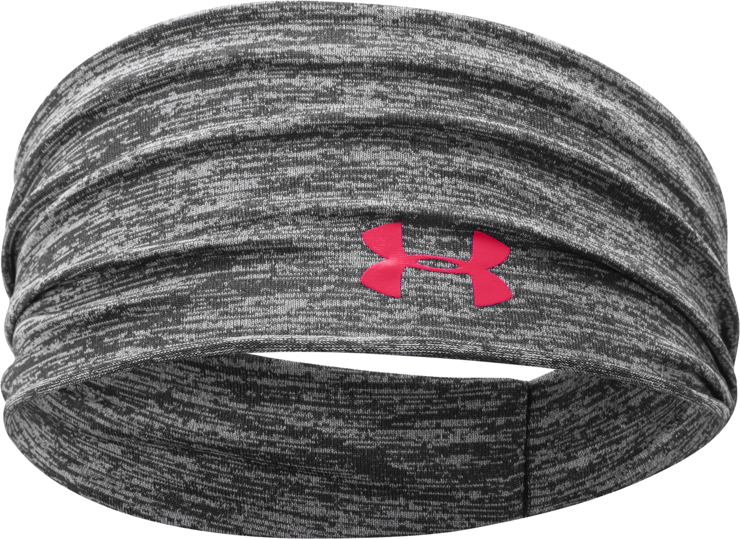 Women's UA Boho Headband, Black