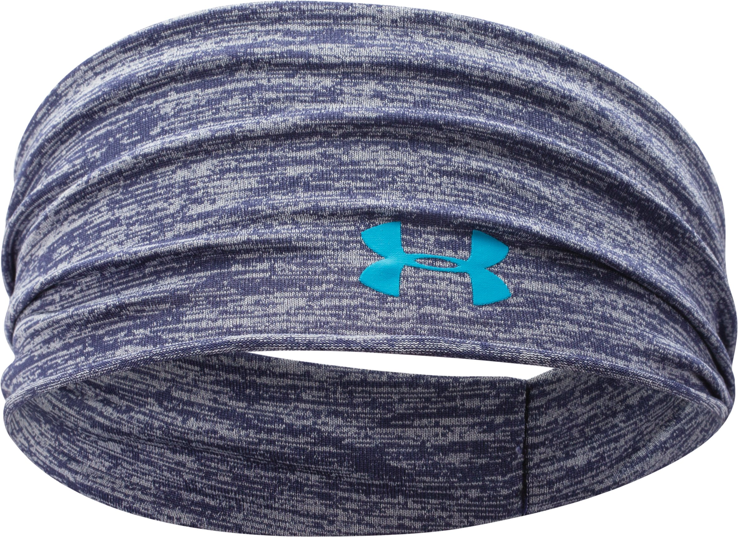 Women's UA Boho Headband, FADED INK, zoomed image