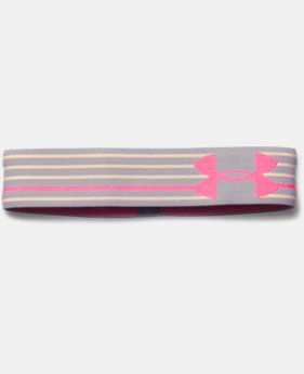 Girls' UA HeatGear® Armour Headband