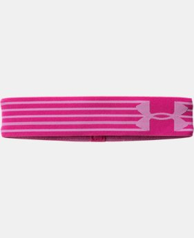 Girls' UA HeatGear® Armour Headband LIMITED TIME: FREE U.S. SHIPPING 1 Color $7.99 to $8.99