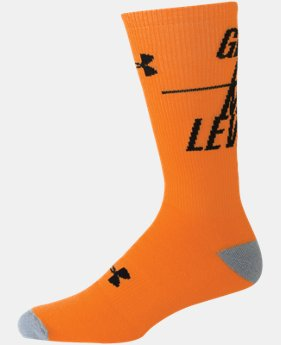 Men's UA Get On My Level Crew Socks