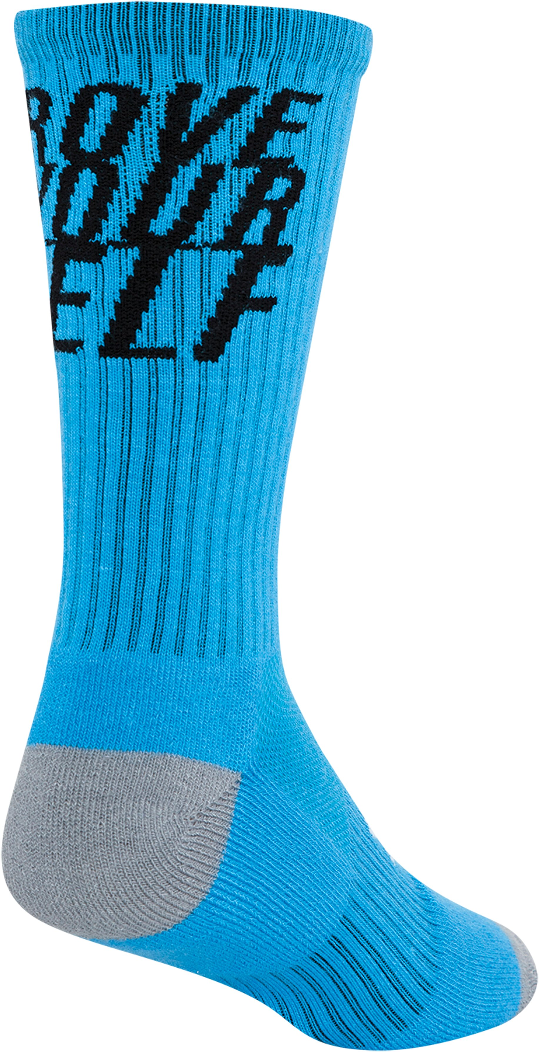 Men's UA Prove Yourself Crew Socks, ELECTRIC BLUE
