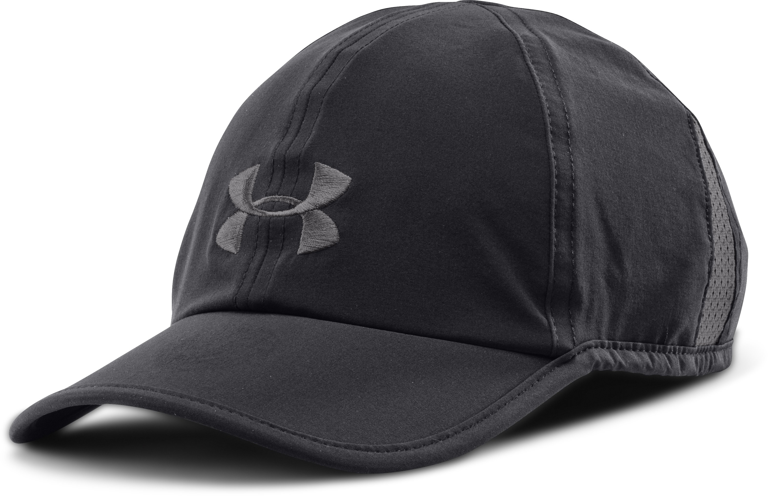 Men's UA Shadow Run Cap, Black