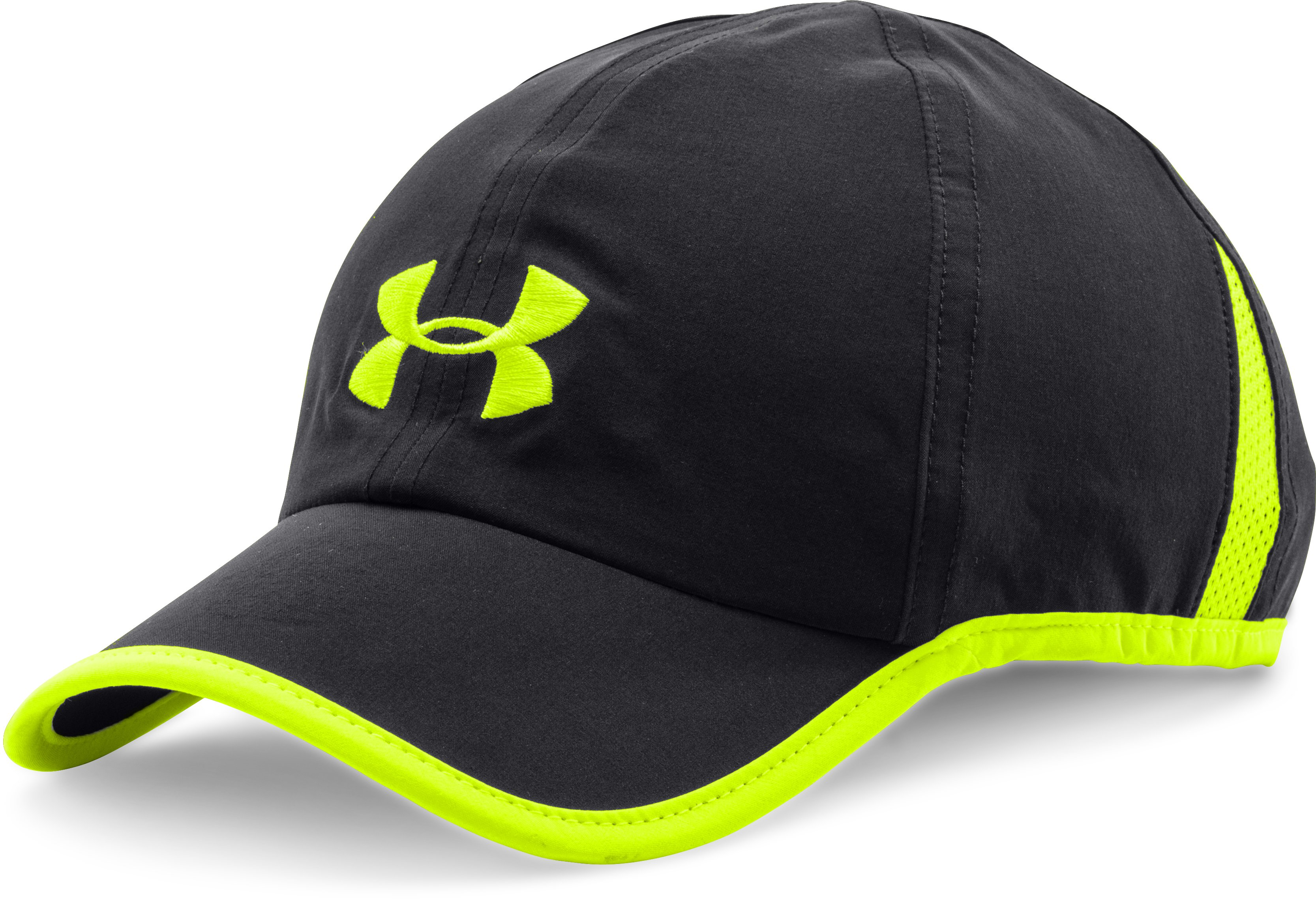 Men's UA Shadow Run Cap, Black , undefined