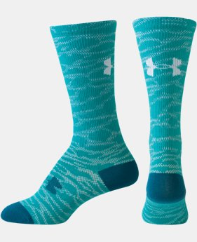Women's UA L& Camo Crew Sock LIMITED TIME: FREE U.S. SHIPPING 1 Color $12.99