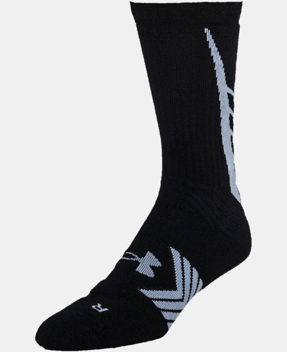 Men's UA Undeniable Crew Socks LIMITED TIME: FREE U.S. SHIPPING 7 Colors $11.99
