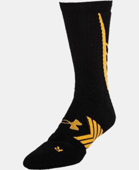 Men's UA Undeniable Crew Socks LIMITED TIME: FREE U.S. SHIPPING 1 Color $14.99