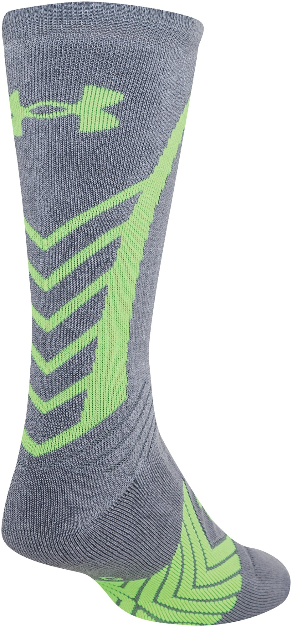 Men's UA Undeniable Crew Socks, Steel