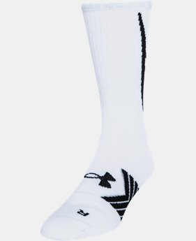 Men's UA Undeniable Crew Socks  23 Colors $14.99