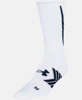 Men's UA Undeniable Crew Socks LIMITED TIME: FREE U.S. SHIPPING 3 Colors $11.99