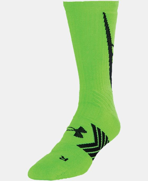 Men's UA Undeniable Crew Socks LIMITED TIME: FREE U.S. SHIPPING 2 Colors $11.99