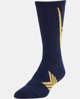 Men's UA Undeniable Crew Socks LIMITED TIME: FREE U.S. SHIPPING 1 Color $11.99