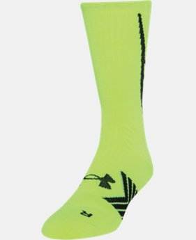 Men's UA Undeniable Crew Socks  2 Colors $11.99 to $14.99