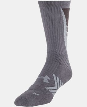 Boys' UA Undeniable Crew Socks   $15.99