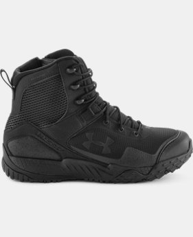Best Seller Men's UA Valsetz RTS Side-Zip Tactical Boots  1  Color $124.99