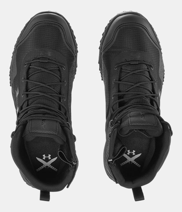 Men S Ua Valsetz Rts Side Zip Tactical Boots Under Armour Us