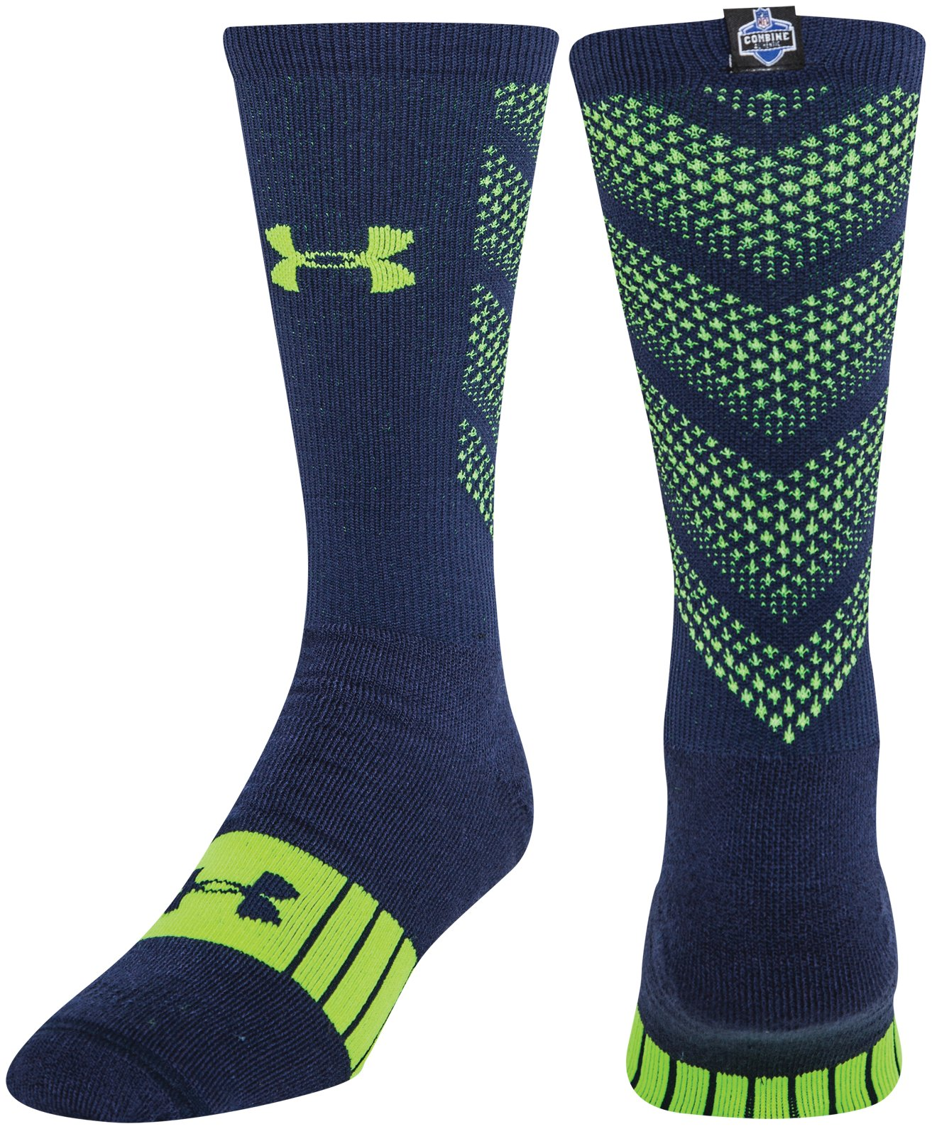 Men's NFL Combine Authentic Socks, Midnight Navy