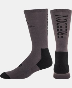 Men's UA Freedom Crew Socks 2-Pack