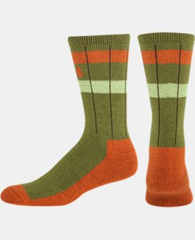 Men's UA Stripe Crew Socks
