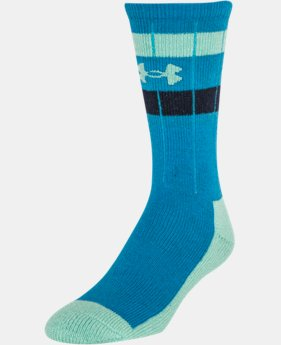 Men's UA Stripe Crew Socks LIMITED TIME: FREE U.S. SHIPPING 1 Color $11.99