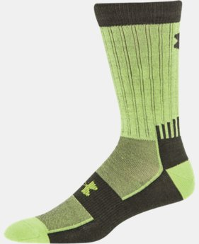 Men's UA Scent Control ColdGear® Infrared Light Crew Socks