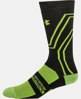 Men's UA Scent Control ColdGear® Infrared Crew Socks