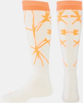Women's UA Ice Cushion Over-The-Calf Socks