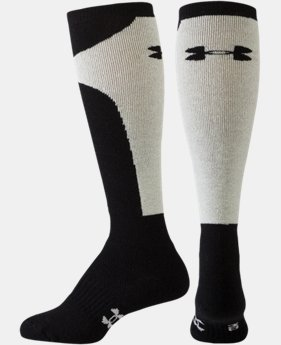 Women's UA Color Block Cushion Over-The-Calf Socks