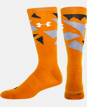 Men's UA Color Shatter Light Crew Socks  2 Colors $11.99