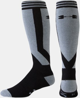 Men's UA Color Block Cushion Ski/Snowboard Socks