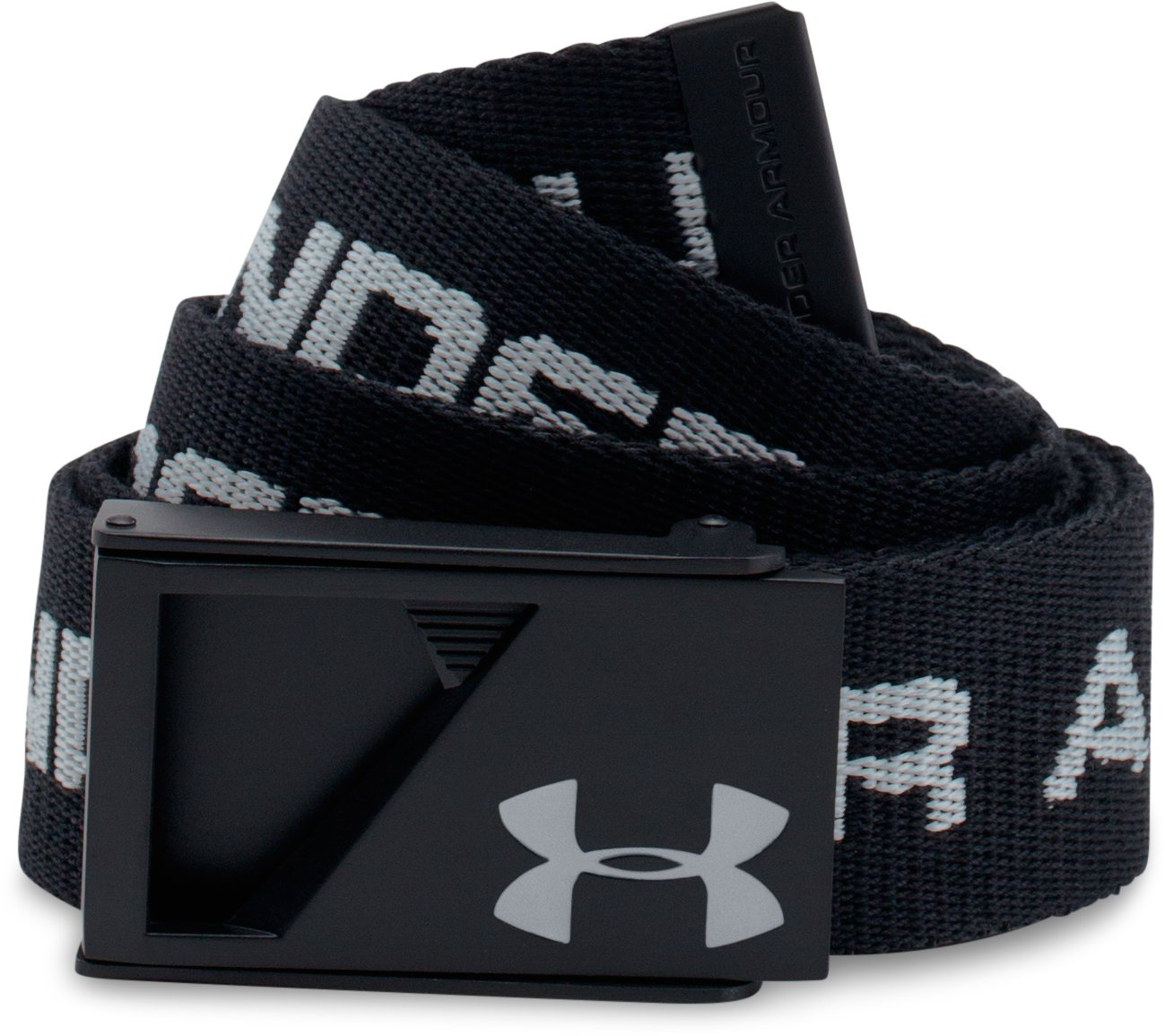 UA Range Webbed Belt, Black , undefined