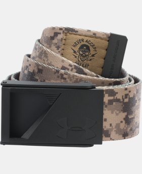 UA Range Webbed Belt  2 Colors $24.99