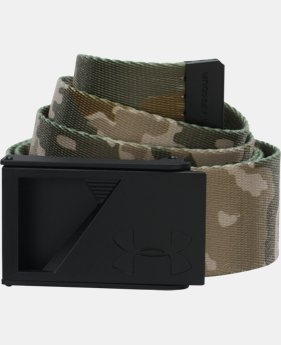 UA Range Webbed Belt  6 Colors $18.99