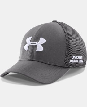Men's UA Golf Mesh Stretch Fit Cap LIMITED TIME: FREE U.S. SHIPPING 1 Color $24.99