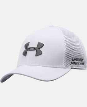 Men's UA Golf Mesh Stretch Fit Cap   $24.99