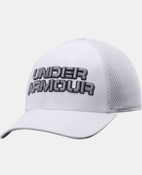 Men's UA Training Mesh Stretch Fit Cap  1 Color $13.99 to $16.99