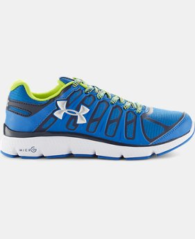 Boys' Grade School UA Micro G® Pulse II Grit Running Shoes
