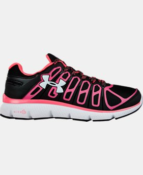 Girls' Grade School UA Micro G® Pulse II Grit Running Shoe  1 Color $48.99