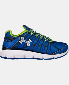 Boys' Pre-School UA Pulse II Grit Shoes