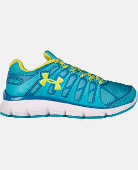 Girls' Pre-School UA Pulse II Grit Running Shoe