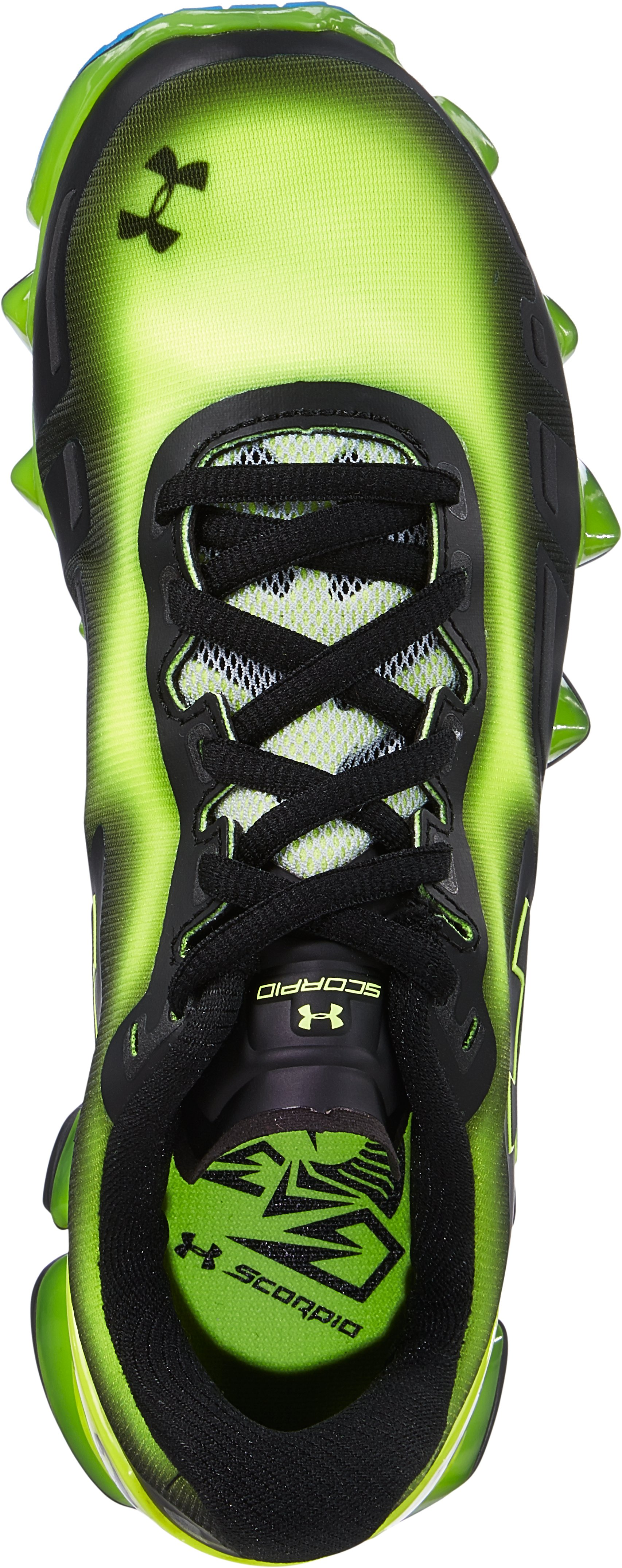 Boys' Grade School UA Scorpio Running Shoes, High-Vis Yellow