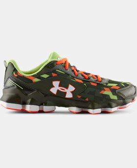 Boys' Grade School UA Micro G® Nitrous Running Shoes  1 Color $74.99
